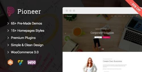 ThemeForest - Pioneer v1.0.7 - Multi-Concept Corporate WordPress Theme - 16540592