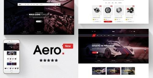 ThemeForest - Aero v1.1.1 - Car Accessories Responsive Prestashop 1.7 Theme - 20349536