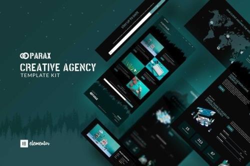 ThemeForest - Parax v1.0.1 - Creative Agency Elementor Template Kit - 34229135