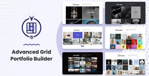 CodeCanyon - Advanced Grid Portfolio Builder v1.0.4 - 29263738