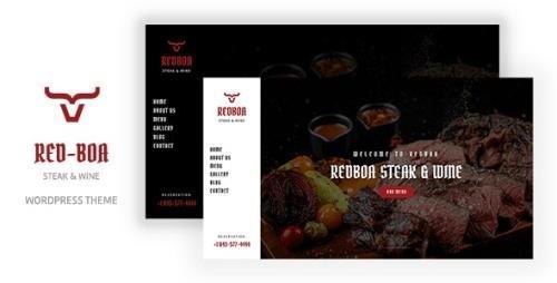 ThemeForest - Redboa v1.0 - Steakhouse Restaurant WordPress (Update: 15 October 21) - 33968383